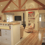converted barn interior design